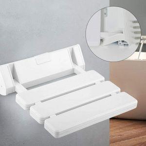Duschsitz Klappsitz Duschklappsitz  Wandmontage Dusch Duschhilfe Duschklappstuhl  Dusch Hocker Bad & Dusch  Max. 130kg