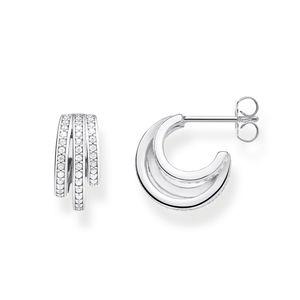 Thomas Sabo CR652-051-14 Ohrringe Damen Ringe Sterling-Silber