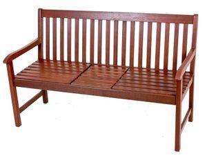 3-Sitzer Gartenbank Parkbank Holzbank Bank mit Tisch zum Hochklappen Eukalyptus