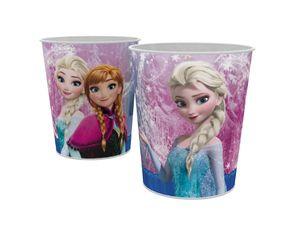 Disney Frozen Die Eiskönigin Anna Elsa Papierkorb Eimer Mülleimer lila