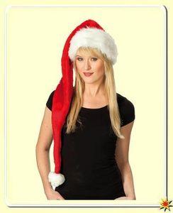 XXL Weihnachtsmann-Mütze, Plüschmütze Nikolaus