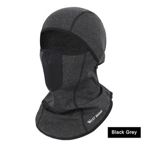 Winter Thermal Skimaske Mesh Entlueftungsloch Winddichte Fahrradkappe Schal Kopfbedeckung Fahrrad Sturmhaube Angeln Running Bike Gesichtsmaske
