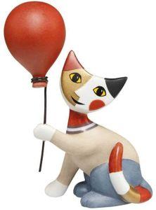 Goebel  Rosina Wachtmeister Katzenwelt Katze mit Luftballon Pallone 31400391