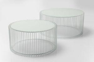 Couchtisch Wire White (2/Set)