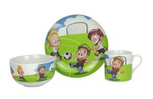 Retsch Arzberg Porzellan Kindergeschirrset 3-teilig (Fussball)