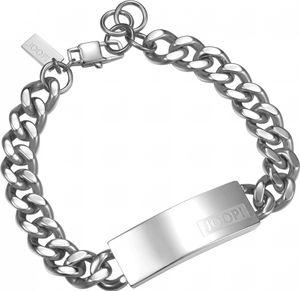Joop! Jewelry Logo Signature JPBR10616A215 Herrenarmband Massiv gearbeitet