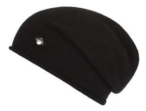 Eisbär UNISEX Mütze SOFT OS mit Kaschmir schwarz
