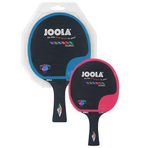 JOOLA Tischtennisschläger Colorato blau-pink