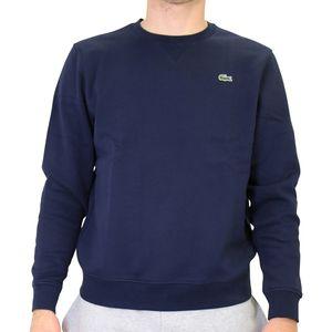 Lacoste Sweatshirt mit Rundhalsausschnitt Herren Dunkelblau (SH7613 166) Größe: 4 (M)