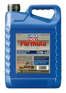 Liqui Moly Formula Super 15W 40 Mineralisches Mehrbereichsöl 5L