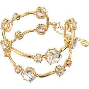 Swarovski Constella Armband, Weiss, Goldlegierung 5620395