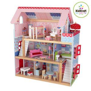 KidKraft Puppenhaus Chelsea inkl. 17 Möbelstücken; 65054