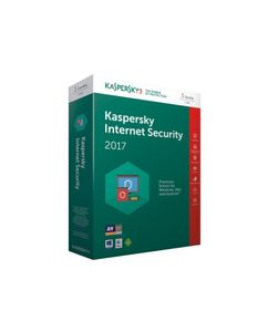 Kaspersky Internet Security 2017 3 Lizenzen (Code in a Box). Für Windows Vista/7/8/10