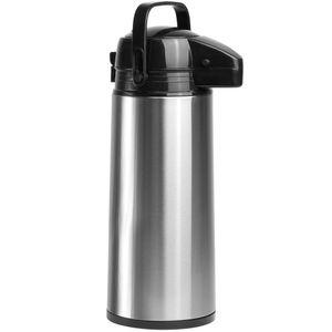 Edelstahl Pumpkanne Isolierkanne Thermoskanne 1,9 L