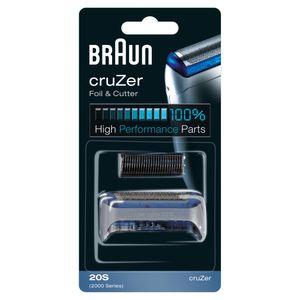 Braun 20S Ersatzscherteil Kombipack für Elektrorasierer