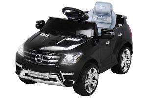 Kinder Elektro Auto Mercedes ML350 Kinderauto Kinderfahrzeug Elektrofahrzeug 50W, Farbe:Schwarz