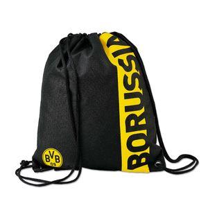 BVB  Turnbeutel mit Schriftzug Borussia Dortmund