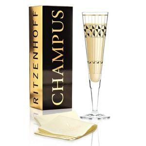 Ritzenhoff Champus Champagnerglas von Burkhard Neie (Artdeko)