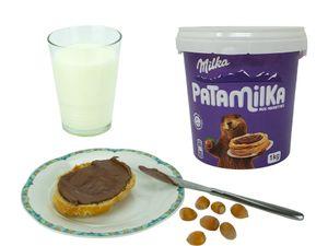 Milka Patamilka 1kg Eimer Brotaufstrich Schokolade Original aus Frankreich MHD 03/2022