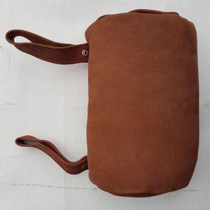 Kopfstütze aus Büffelleder Büffel Leder Buffalo Leather Western Style