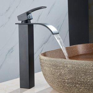 Retro Waschtischarmatur Wasserhahn Hoch Badarmatur Waschbecken  Spültischarmatur Einhebelmischer Küche Wasserfall Armatur