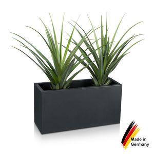 Pflanztrog VISIO 40 Kunststoff Blumenkübel, 80x30x40 cm (L/B/H), Farbe: anthrazit matt