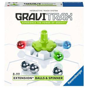 RAVENSBURGER GraviTrax® Action-Steine Erweiterung Balls & Spinner Kugelbahn