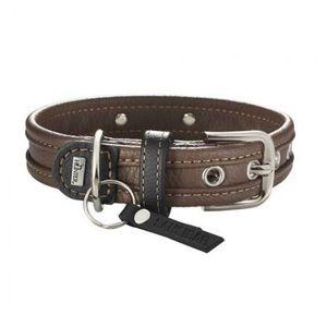 Hunter Halsband Sansibar Special 55 Nappaleder braun/schwarz