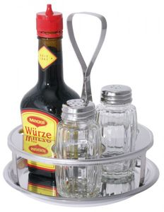 Menage dreiteilig Pfeffer/Salz