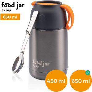 Food Jar Thermobehälter, Edelstahl Isolierbox für warmes Essen, meal prep und Babynahrung 650ml