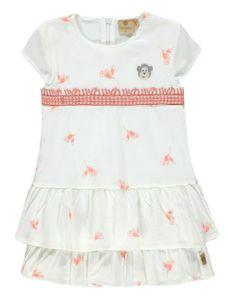 bellybutton® Mother Nature & Me Mädchen Kleid, Größe:110, Präzise Farbe:Mehrfarbig