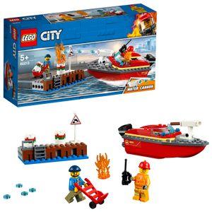 LEGO® City Feuerwehr am Hafen, 60213