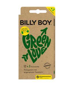 Billy Boy Green Love 12+3  Kondome