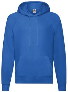 Fruit of the Loom Lightweight Hooded Sweat, Farbe:royal, Größe:M