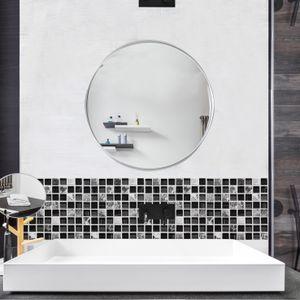 3D Simulation Fliesen Aufkleber Home Decoration Wasserdichte Badezimmer Wandaufkleber FWT90827004