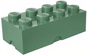 LEGO speicherstein 8 Noppen 25 x 50 cm Polypropylen olivgrün
