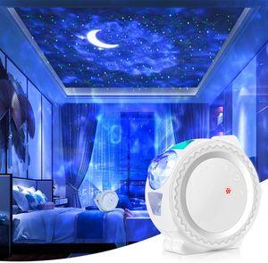 Smart WIFI LED Mond Sternenhimmel Projektor Musik Nachtlicht für Schlafzimmer Deko Kinder Geschenke