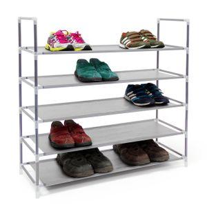 relaxdays Schuhregal für 20 Paar Schuhe