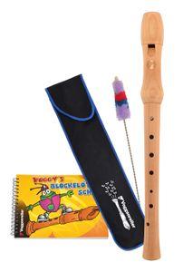 Voggys Blockflöten-Set, deutsche Griffweise