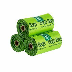 Beco Mint Duft Kunststoff Hunde-Kotbeutel BT3178 (120 Stk/Pkg) (Grün)