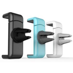 Handyhalterung KFZ Lüftungsgitter, Universal iPhone, Samsung, Huawei usw. Smartphone Handy Halterung (1x Schwarz)