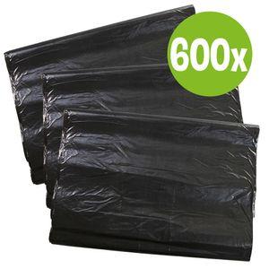 Hundekotbeutel ECO wasserfest reißfeste Kotbeutel große lange Hundekotbeutel zum Falten 12 x 50 Stk.= 600 Stück