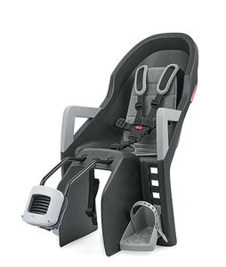 Prophete 0041 Kindersitz Guppy Maxi+ FF, mit Rahmenbefestigung für hinten, 9 bis 22 kg Körpergewicht, mit kleinem Gepäckfach