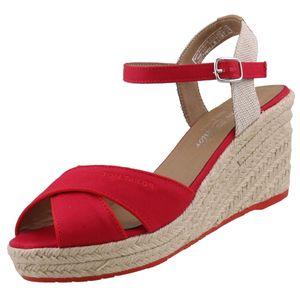 Tom Tailor Sandalette  Größe 38, Farbe: red