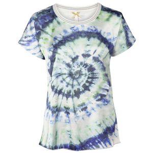 KEY LARGO Damen T-Shirt, Farbe:mehrfarbig, Größe:L