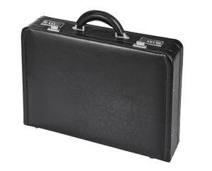 D & N Aktenkoffer  Leder Laptop Business Koffer Schwarz