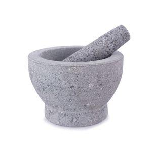 Granitmörser mit Stößel XXL 18cm
