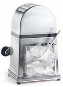 Leopold Vienna Ice Crusher De Luxe, Material: Chrom/Kunststoff