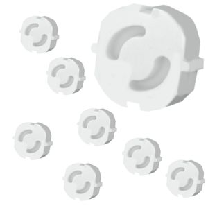 8 Stück Kindersicherung Kinderschutz für Steckdosen Steckdosenschutz Schutz