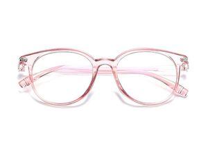 Blaulichtfilter Brillen Anti Blaulicht Brillen Ohne Sehstärke Damen Herren Computer Gaming Brillen Anti Müdigkeit Leicht Retro